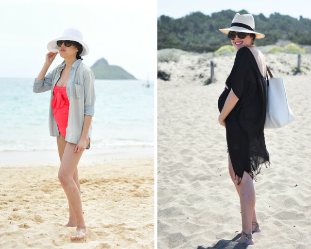 cfc-9 to 5 chic maternity style-beach coverups