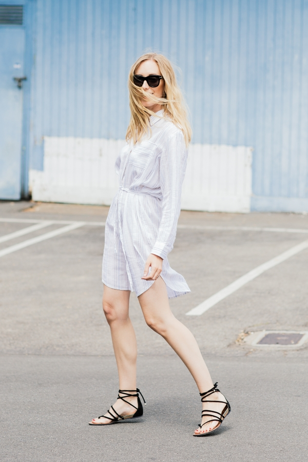 shirtdress-sandals-shirt-dress-summer work outfit-weekend outfit-vaca outfit-