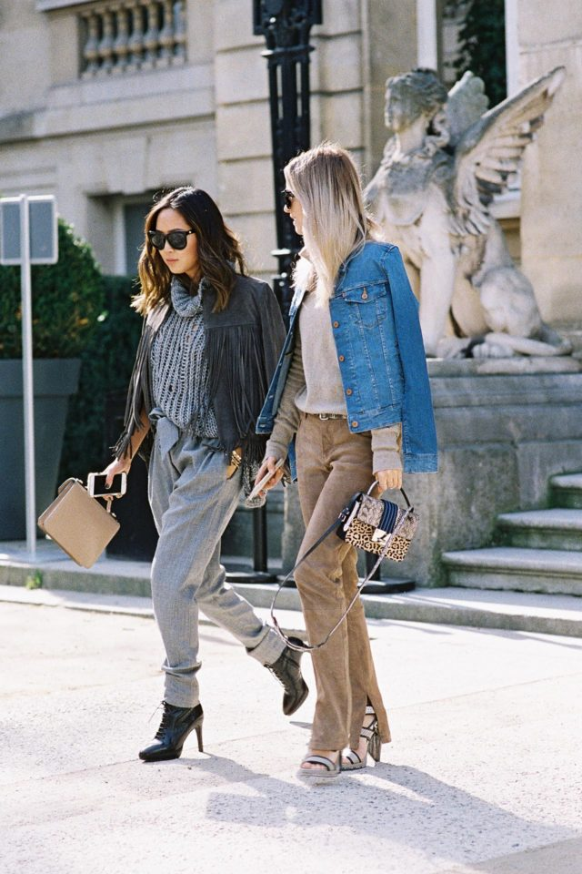 suede pants-denim jacket-spring style-
