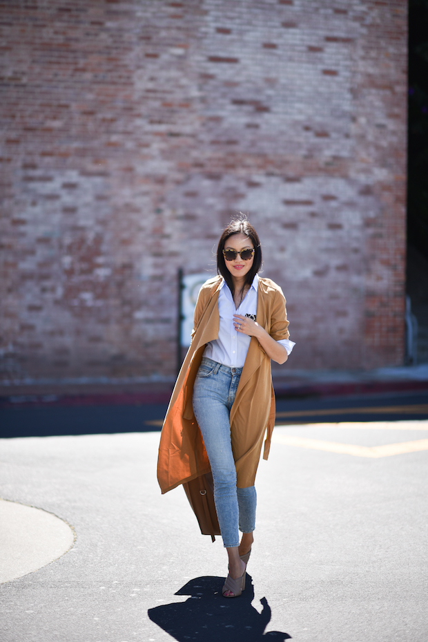 summer mules-duster coat-summer work outfit-