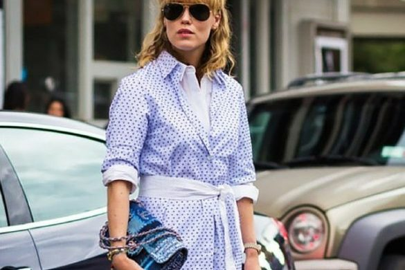 cfc-style hack button up over shirtdress