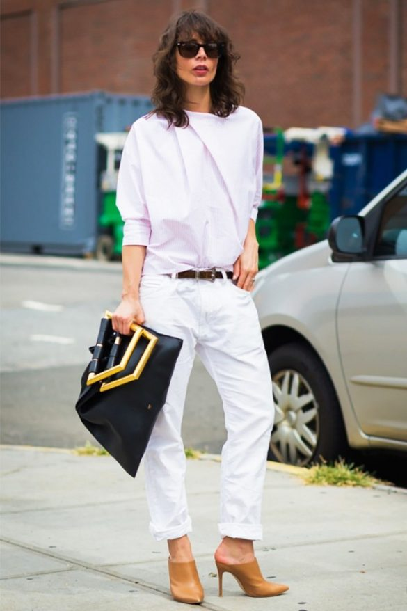 white-jeans-boyfriend-jeans-rolled-jeans-nude-mules-summer-work-outfit-summer-fridays-office-to-out-night-out-date-night-