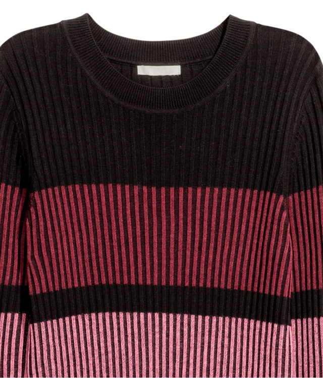 Smart Buy H M Striped Midi Dress Closetful Of Clothes