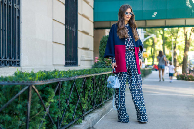 colorblocke-coat-jumpsuit-printed-jumpsuit-fall-work-outfit-nyfw-street-style-hbz
