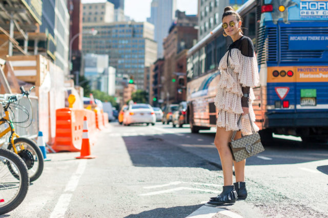 gucci-bag-ruffles-nyfw-street-style-fall-outfits-hbz