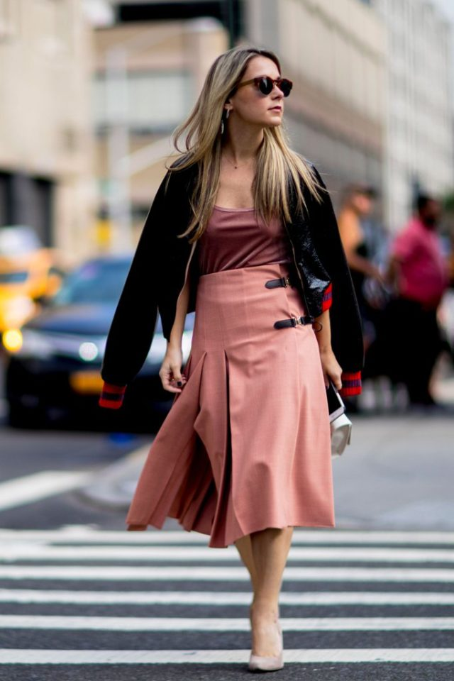 midi-skirt-varsity-jacket-fall-work-outfit-nyfw-street-style-ps