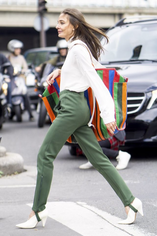 stirrup-pants-rainbow-stripes-fall-work-outfit-pfw-ss-2017-street-style-ps