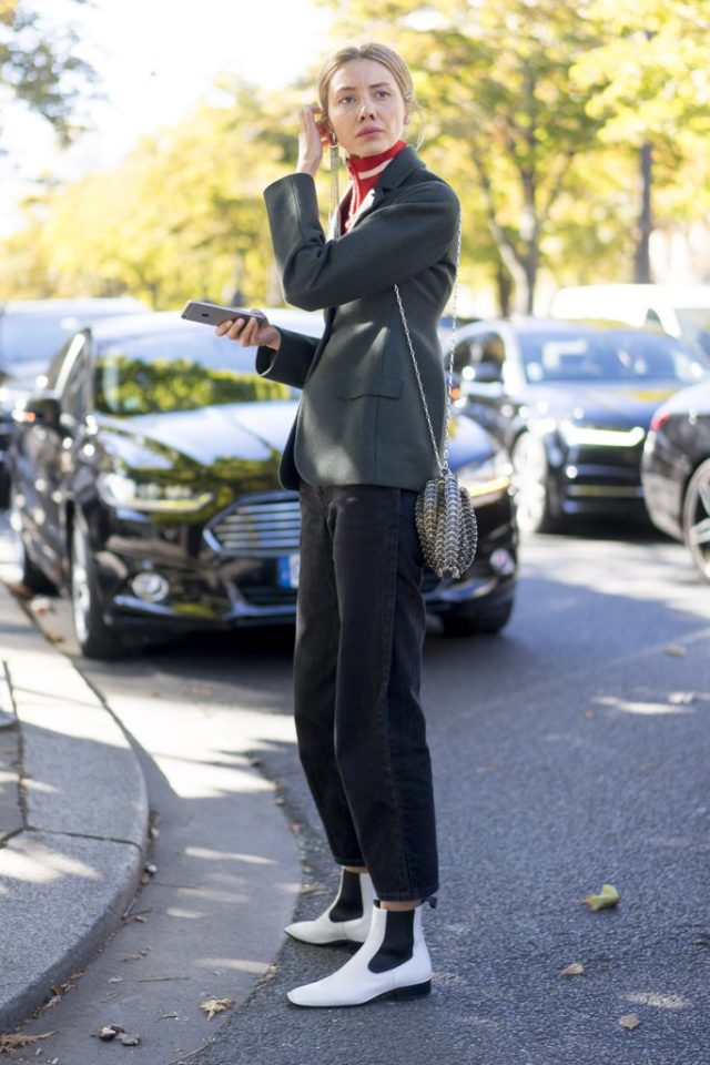 white-booties-boots-fall-work-outfit-pfw-street-style-ps
