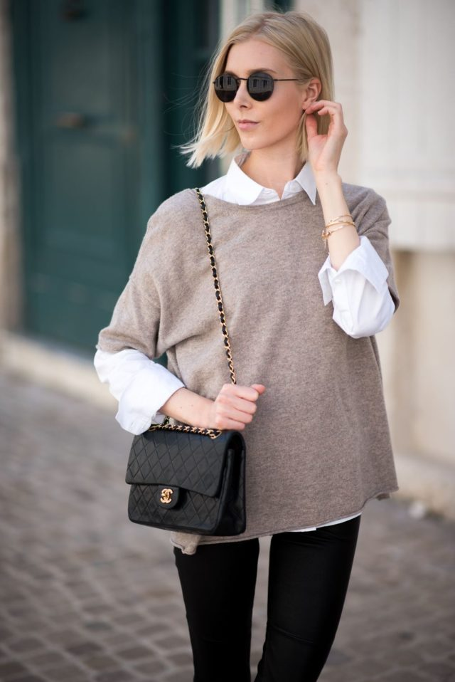 fall-layers-fall-weekend-black-skinnies-sweater-over-button-up-shirt-fall-work-outfit-