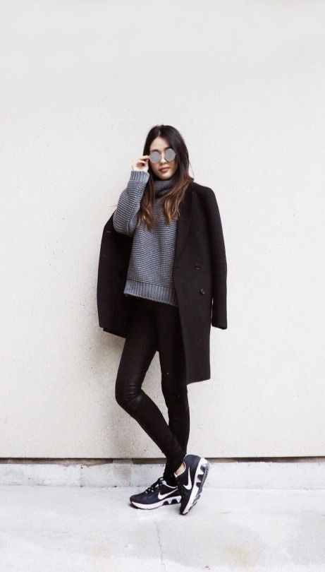 leggings-as-pants-black-coat-nike-sneakers-grey-and-black-winter-weekend-