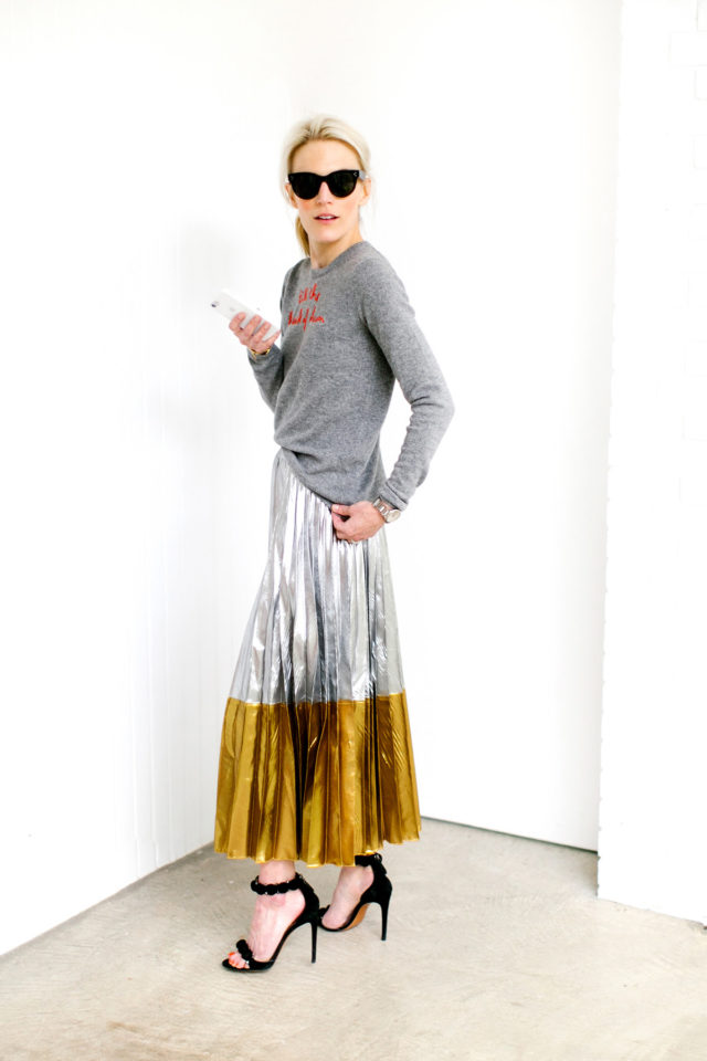 5a9a03964cf 30+ Ways To Style a Pleated Skirt – Closetful of Clothes