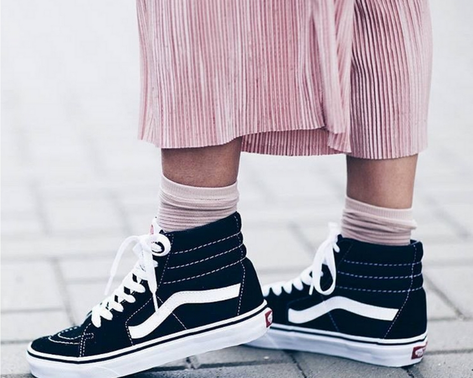 What to Wear with High Top Sneakers