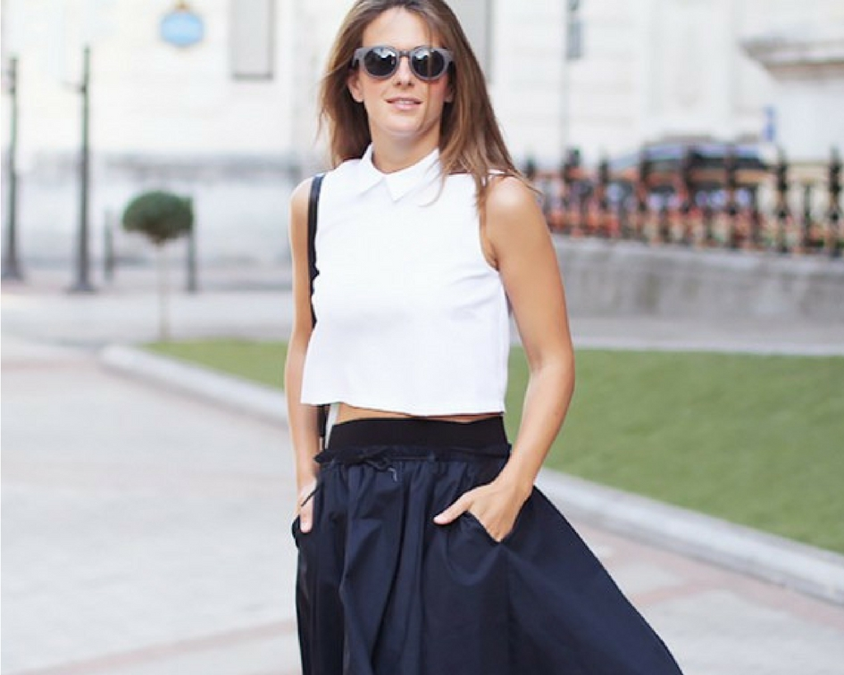 5e65bb014eb How To Wear Crop Tops To Work (Without Getting Called Into HR ...