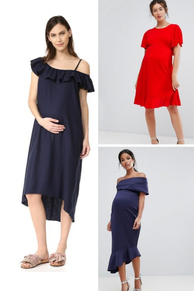 25 Fancy Maternity Dresses to Wear to a Wedding or Cocktail Party ...