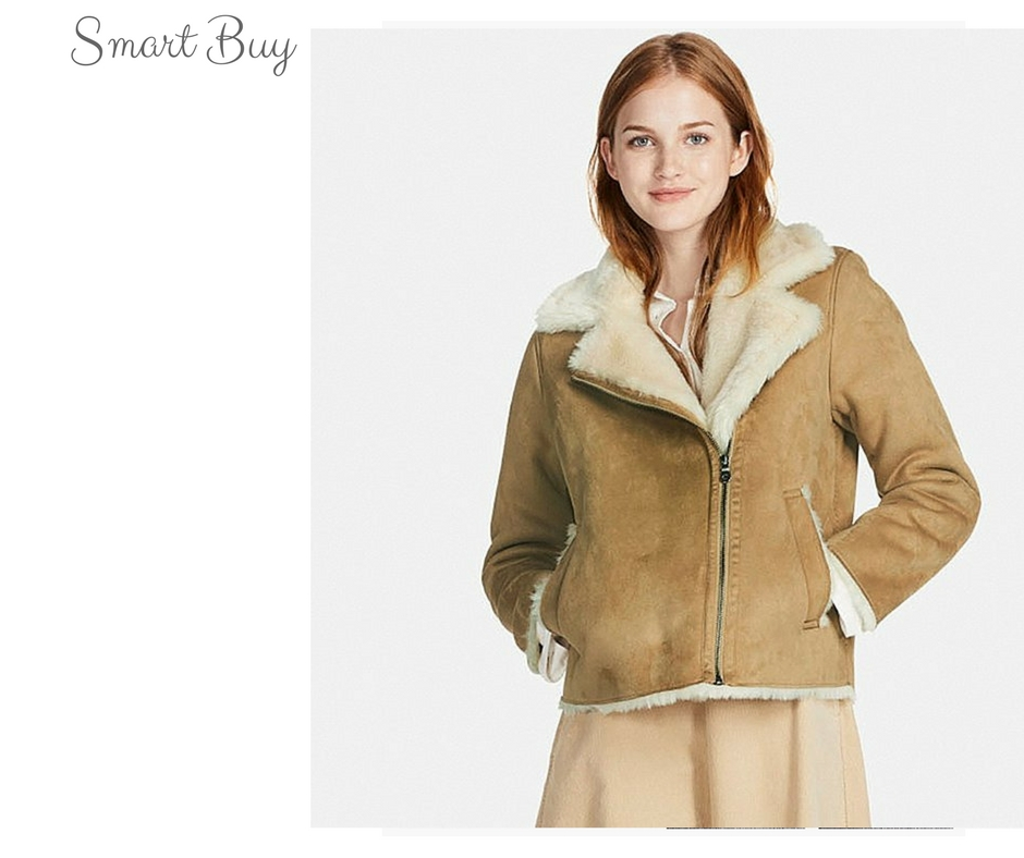 Smart Buy: Uniqlo Faux Shearling Jacket – Closetful of Clothes