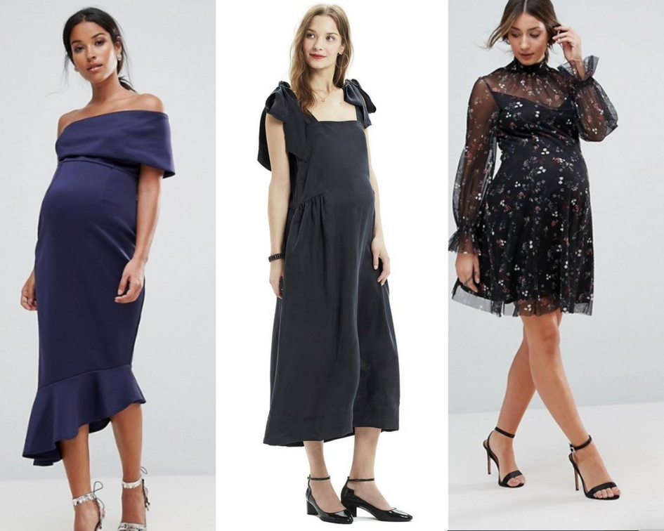 25 Fancy Maternity Dresses To Wear A Wedding Or Tail Party