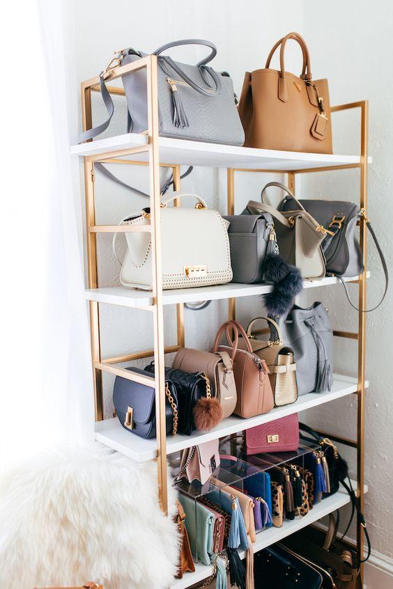 20 Genius Purse Organization Ideas Closetful Of Clothes
