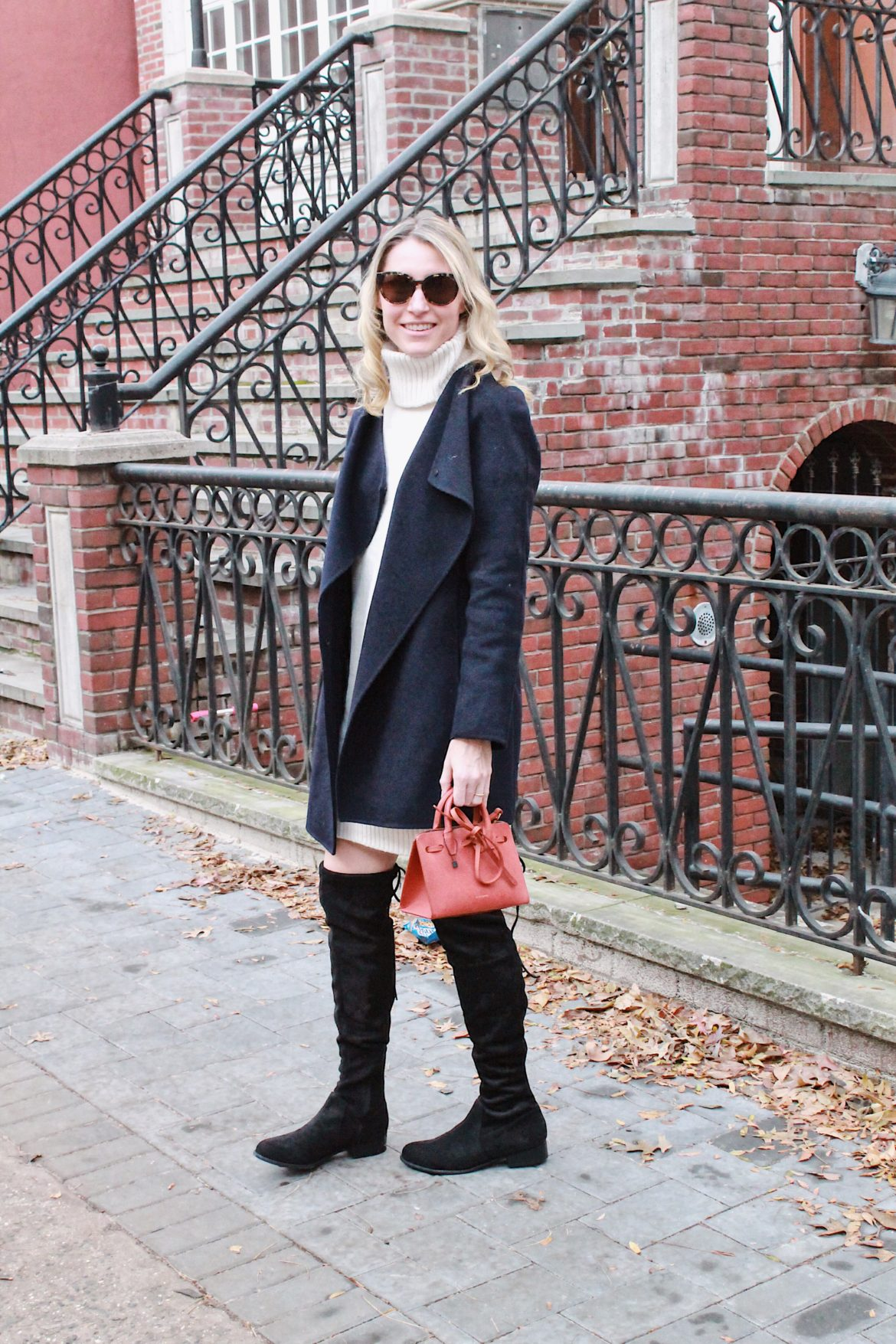 How to Wear a Sweater Dress to Work – Closetful of Clothes