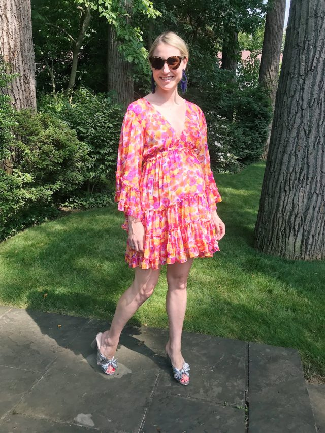what to wear to a summer wedding when pregnant