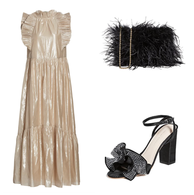 what to wear to a fancy christmas dinner