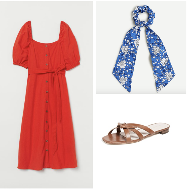 red, white and blue outfit ideas