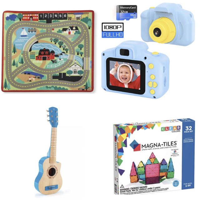 gifts for four year old boys
