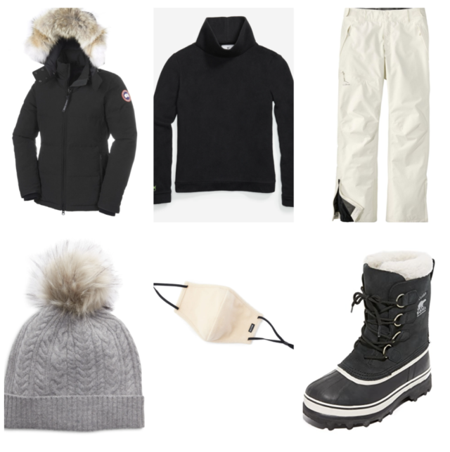 what to wear to play in the snow with your kids